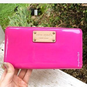 Kate Spade Patent Pink Wallet